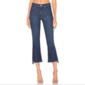 NWOT MOTHER The Insider Crop Step Fray Jeans